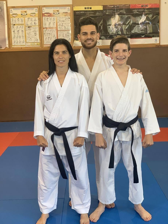 Aurore et Kylian ont leur ceinture noire.