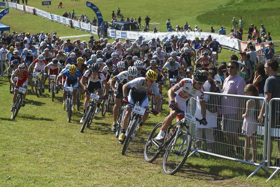 Comme en 2013 lors des championnats de France à Auron, c'est dans le grand pré que seront donnés les départs des courses XC, ce week-end à Levens.