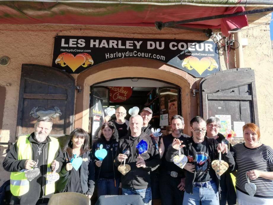 Entre scène ouverte et concert, la « Nuit de la contrebasse » prendra également un air de soirée caritative au profit des Harley du Cœur. (DR)