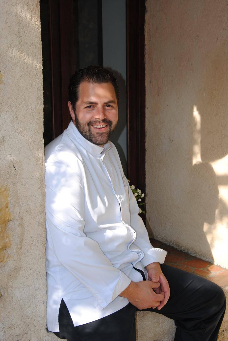 Le chef Michaël Fulci, lauréat du prix Transmission PACA 2019