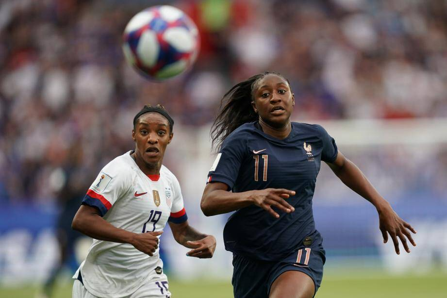 Kadidiatou Diani, 24 ans, a été l'une des maigres satisfactions de cette Coupe du monde.