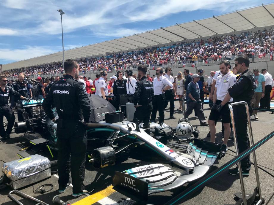 135.000 personnes ont assisté au Grand Prix de France en quatre jours, a annoncé Christian Estrosi.