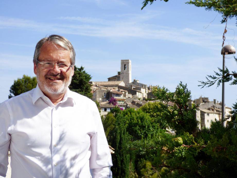 Jean-Paul Faure, candidat à Saint-Paul de Vence en 2020