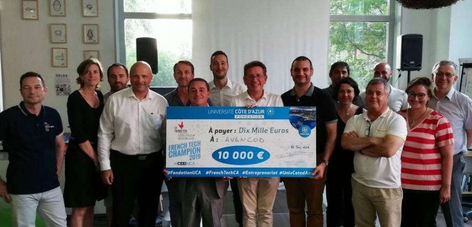 6 startups en lice et un seul champion, la société Avencod basée à Nice.