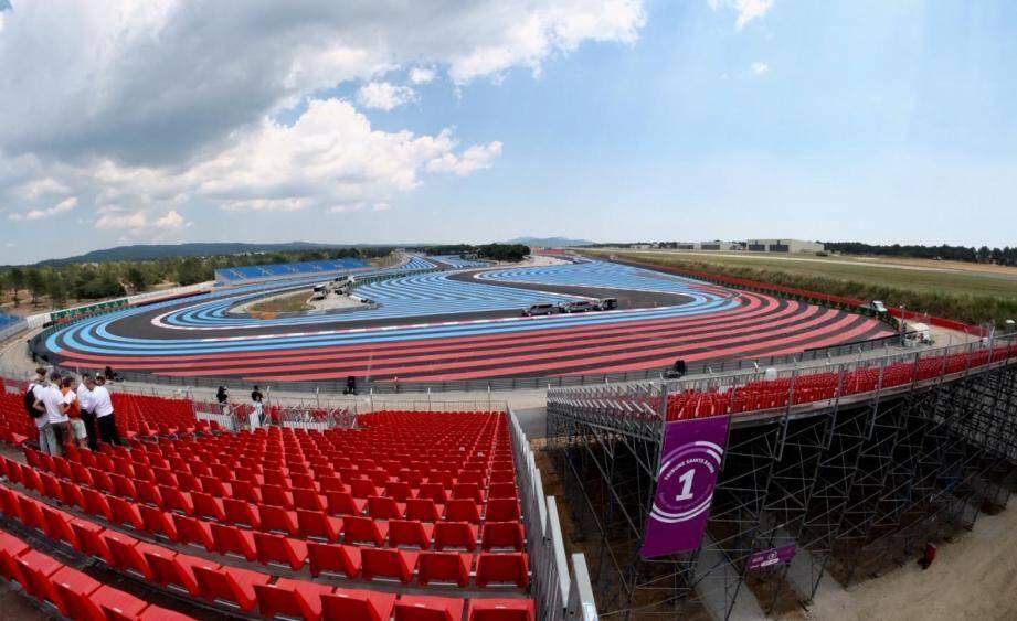 Le Grand Prix de France débute ce vendredi.