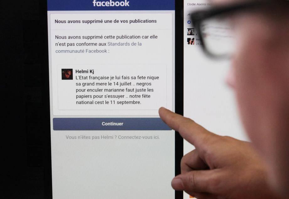 Les auteurs de propos haineux sur Facebook pourront être identifiés par la justice.