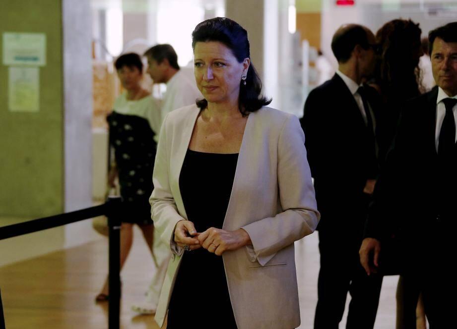 Agnès Buzyn à Nice, en 2017.