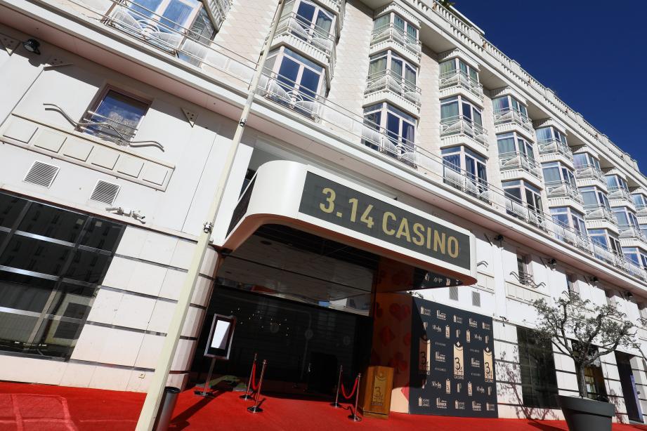 Le 3.14 casino du groupe Partouche à Cannes.