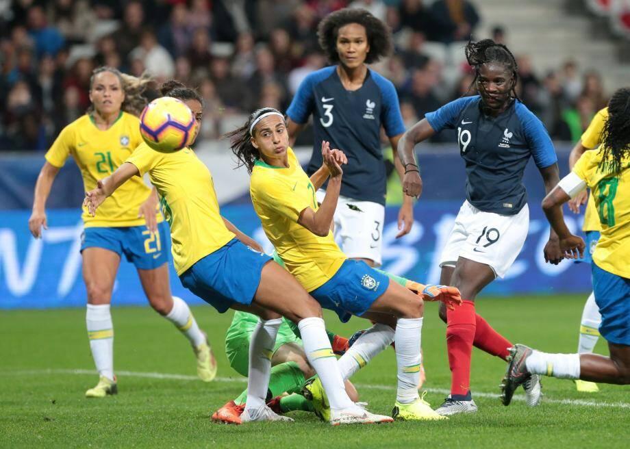 En novembre dernier, les joueuses de Corinne Diacre avaient battu le Brésil (3-1) à l'Allianz Riviera.