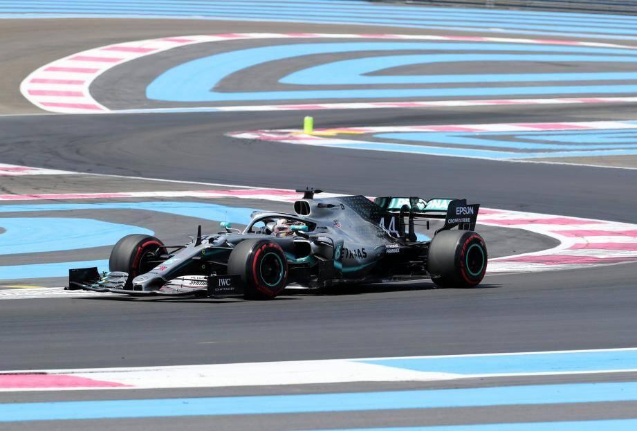 Le Britannique Lewis Hamilton s'élancera en première position du grand Prix de France, ce dimanche.