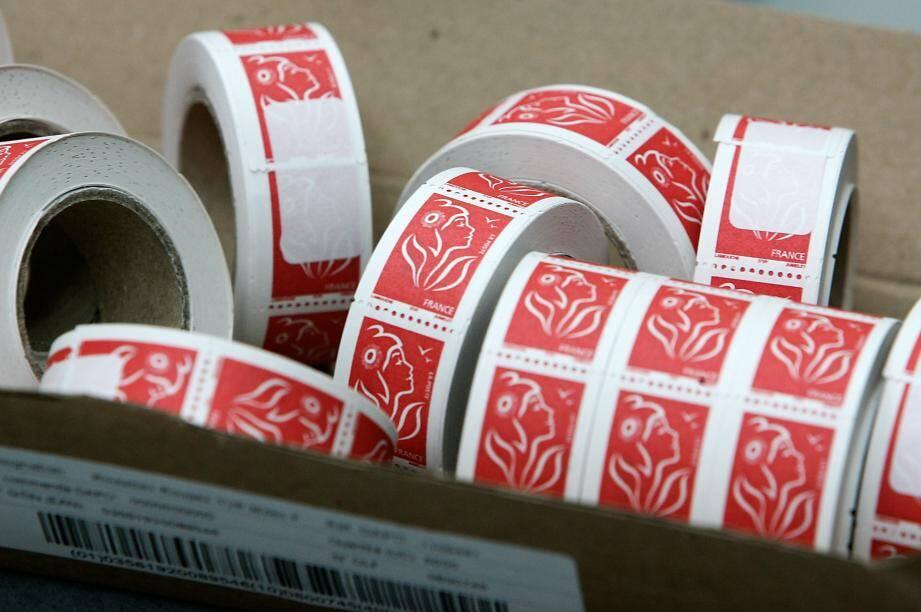 Le timbre rouge, timbre prioritaire à l'effigie de