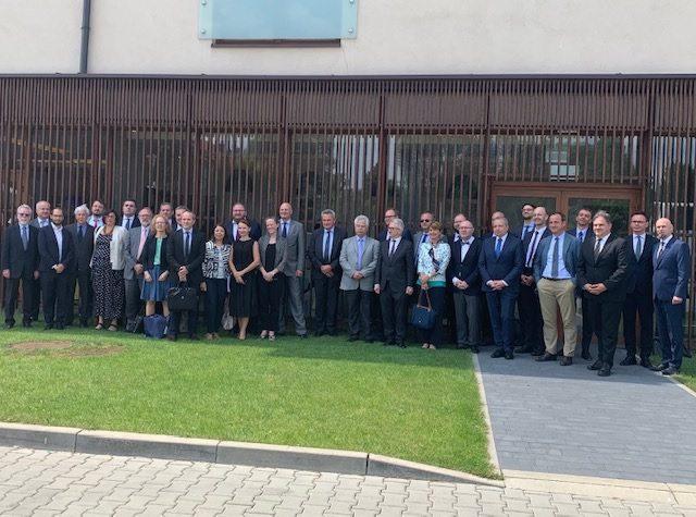 Les membres du Comité international de la Fondation Auschwitz-Birkenau.(DR)