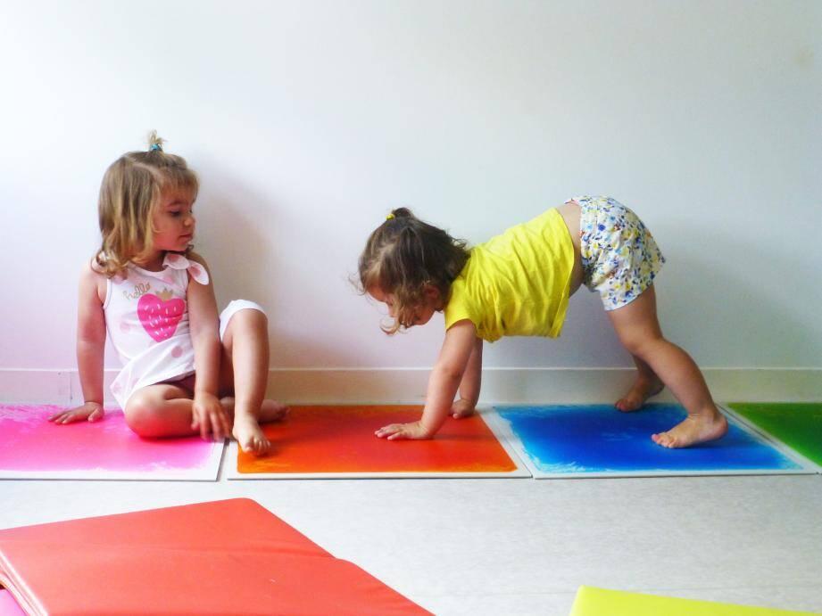 La halte-jeux, le lieu idéal pour préparer les plus jeunes à la socialisation.
