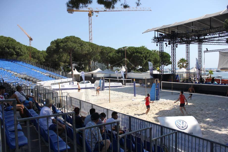 La Pinède bascule en mode foot-volley pour le week-end avec les meilleurs joueurs du monde présents au rendez-vous.