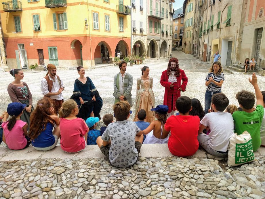 Les enfants ont pu poser des questions aux acteurs.