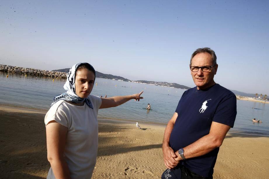 Ils sont revenus sur les plages du Mourillon à Toulon, là où une chaîne humaine s'est créée pour sauver un petit garçon de la noyade.