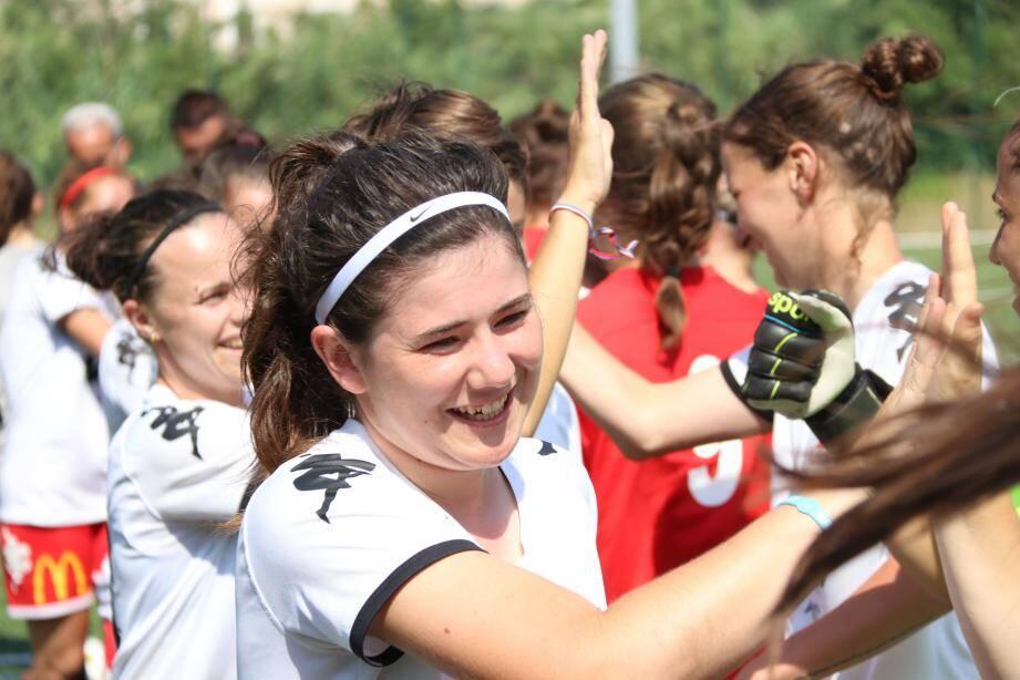 Le Gym a remporté, hier, la première édition de ce tournoi international. Le foot féminin se porte décidément très bien...(photos L.B.)