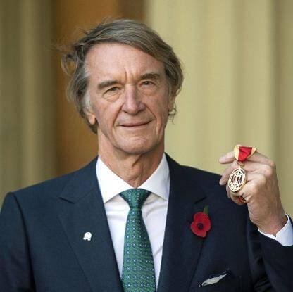 Sir Jim Ratcliffe.