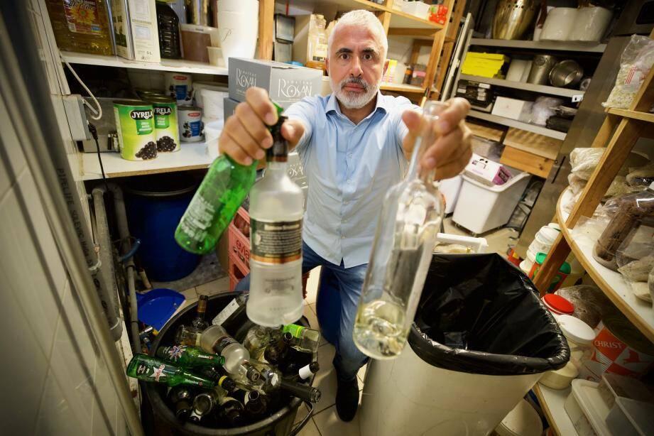 Noël Di Giovanni a cherché des solutions pour améliorer la gestion du tri, compliquée selon lui, dans les restaurants.