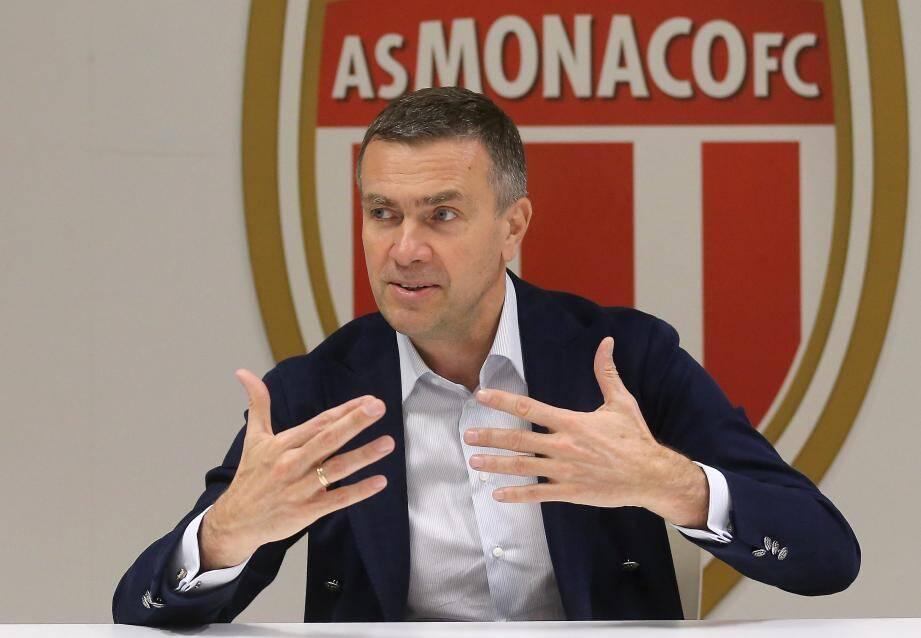 Oleg Petrov, le vice-président de l'ASM, est au cœur du mercato monégasque.