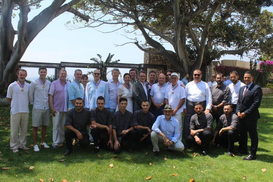 Une trentaine de MOF ont participé au brunch estival de la région Sud.