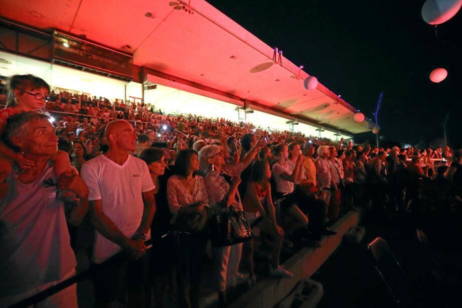 Tout au long de l'été, le public de l'hippodrome de la Côte d'Azur, ici en 2018, profitera des grands rendez-vous présentés, ce jeudi.