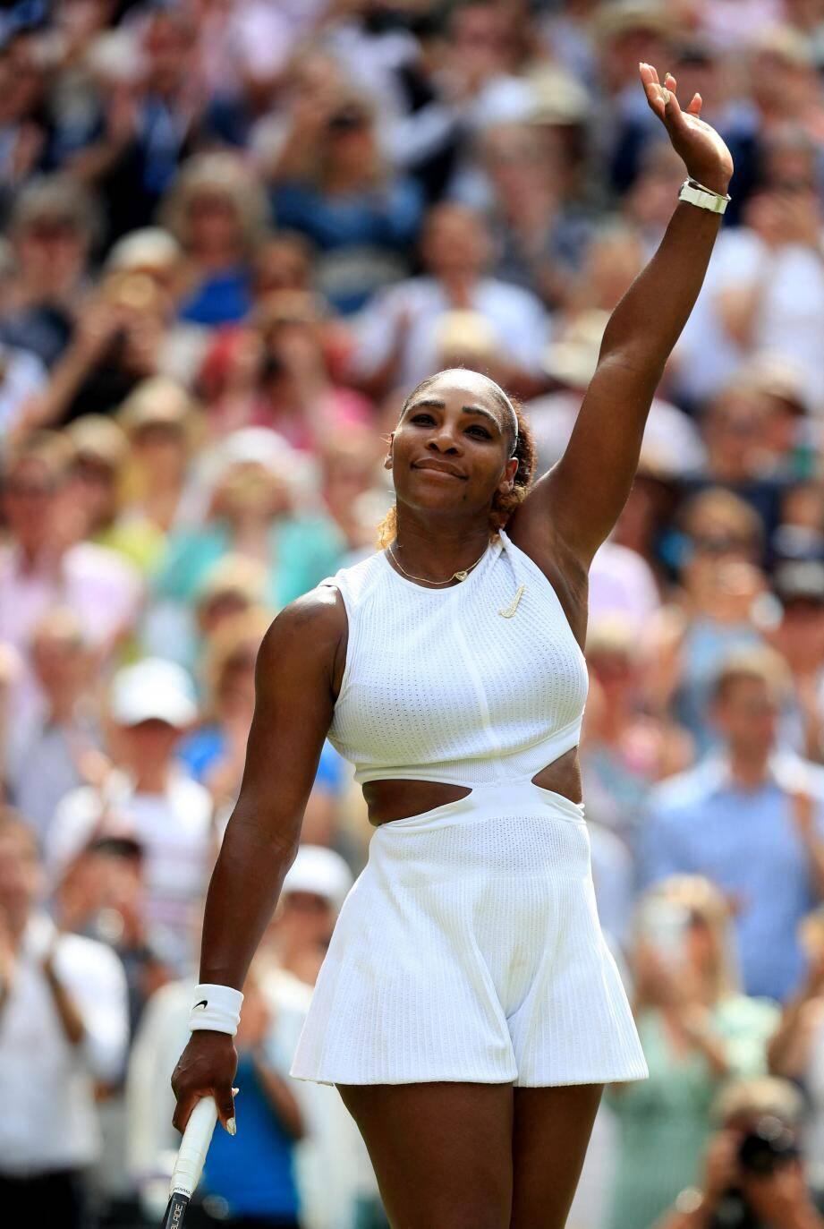 Serena Williams affrontera Simona Halep en finale.