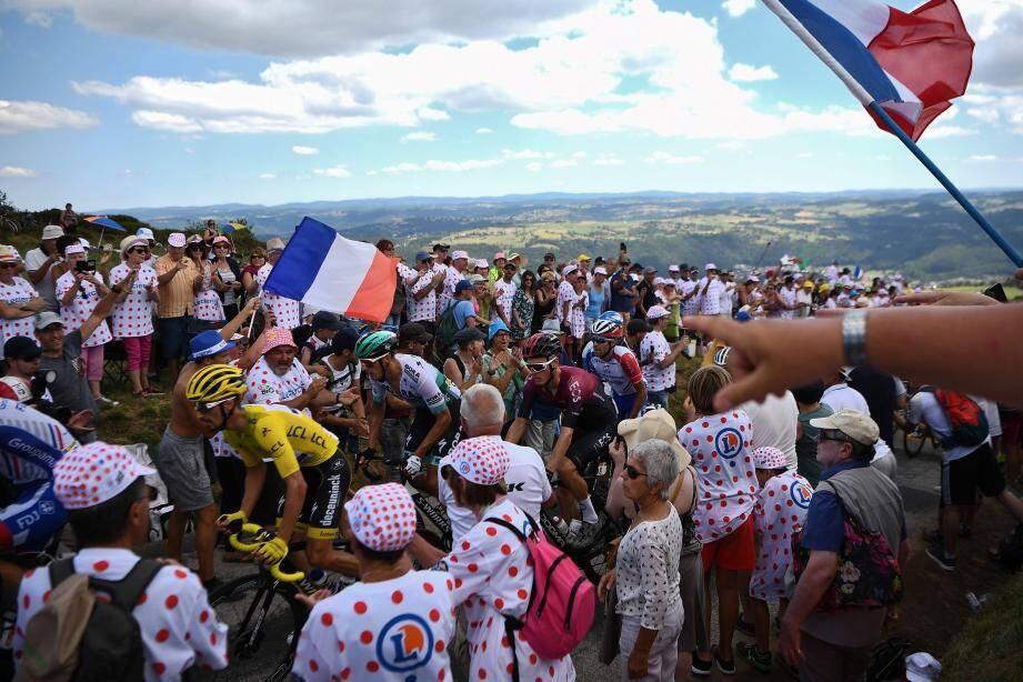 Pour Impey, c'est gagné ! (photos AFP)