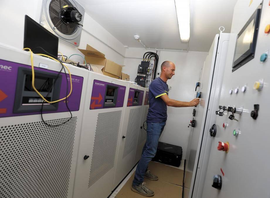 L'îlotage de l'électricité permet une autonomie de 6 heures.