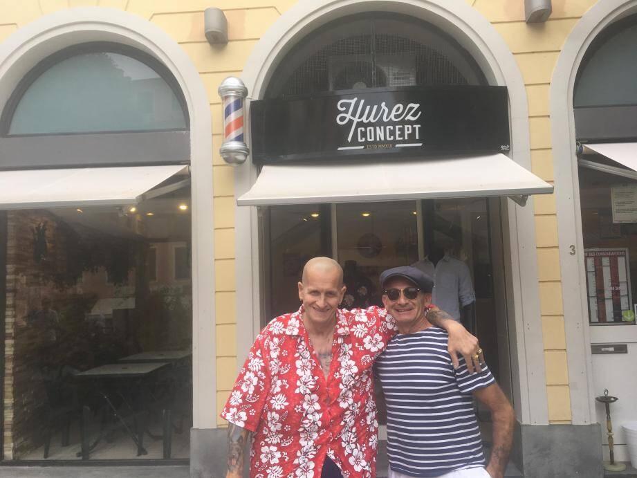 Michel Ogereau et Patrick Luci, respectivement président et vice-président de l'association « Rhythm of 50's Club », sont fin prêts pour l'organisation. (C.C.)