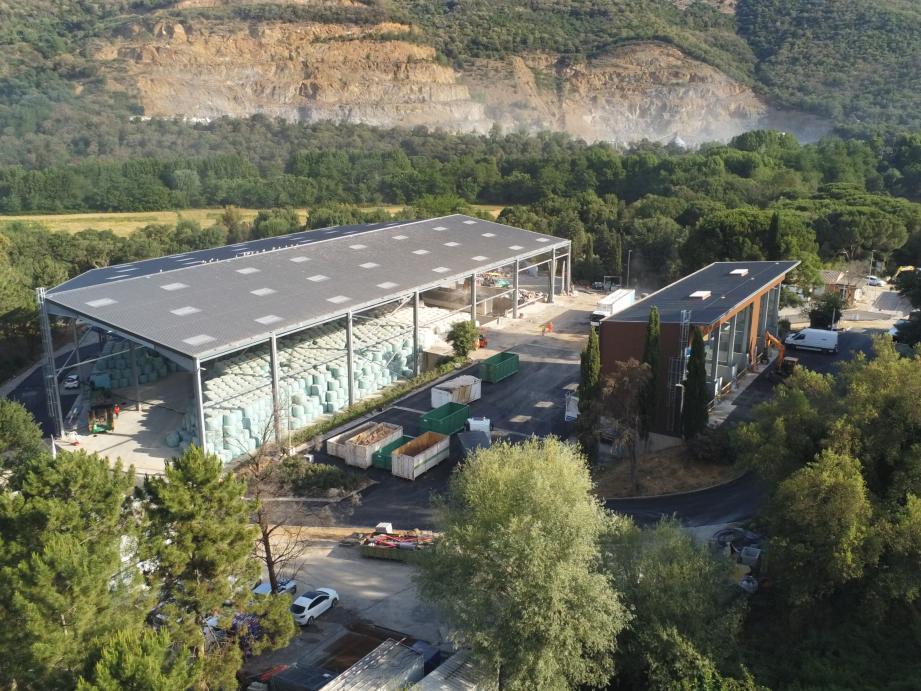 Le site du Maravéou a été complètement restructuré afin d'améliorer la valorisation.