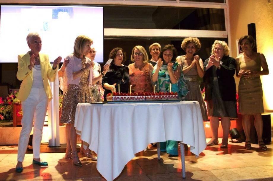 Une célébration marquante pour les membres du Zonta Club.
