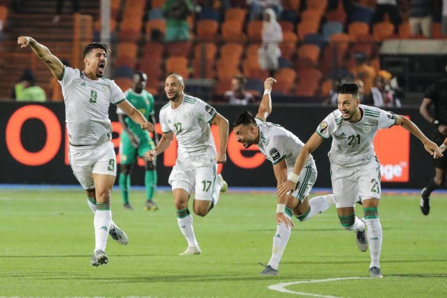 Baghdad Bounedjah, l'unique buteur de cette finale.