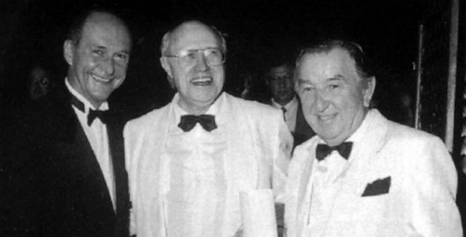 André Böröcz et le grand violoncelliste russe Mstislav Rostropovitch avaient été reçus par le maire Jean-Claude Guibal en 1994.