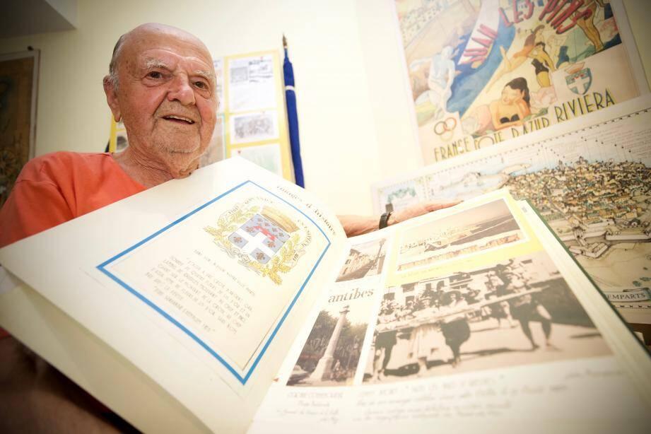 « Antibes vous connaissez » : le livre patrimonial de Bernard Boetti. L'œuvre d'une vie.