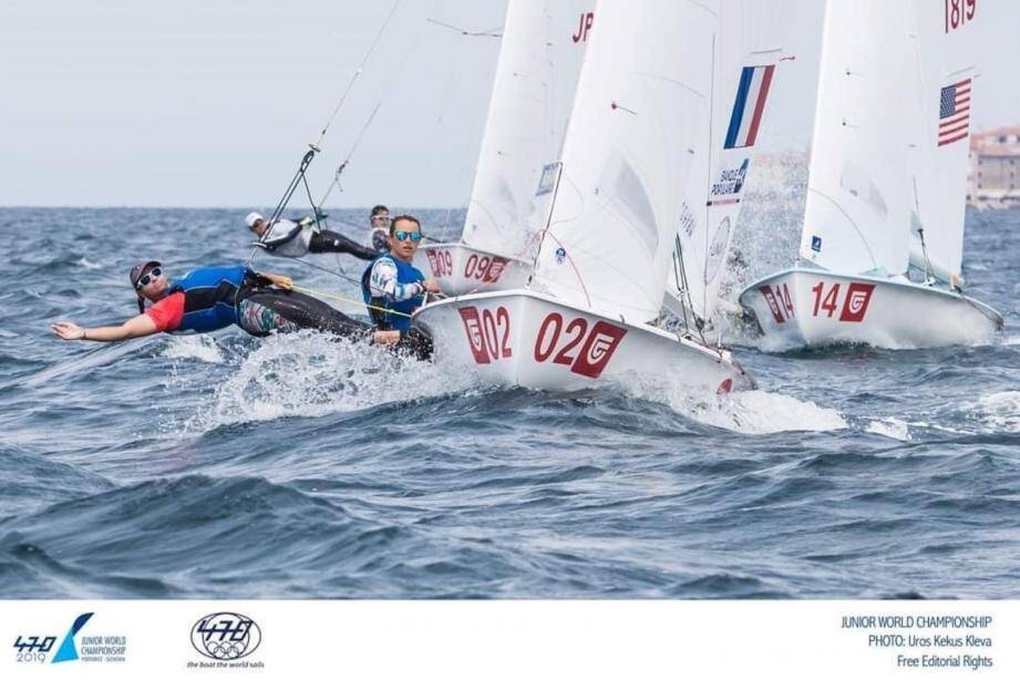 Paola et Marine en Slovénie : vice-championnes du monde.(Ph Uros Kekus Kleva))
