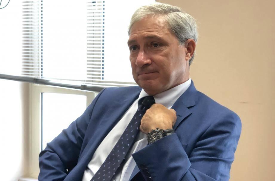 Jean-Michel Prêtre le 2 juillet dernier, lors de sa dernière rencontre en date avec la presse.