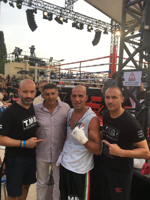 Maxime Brandimarte, Jean-Claude Alarcon, Davide Ferraro et Eric Angio. (DR)
