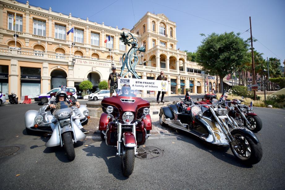 Les rendez-vous événementiels, comme ici avec la fête du deux-roues, font partie des critères d'attribution du label «Ville Motarde».(Archives Clément Tiberghien)