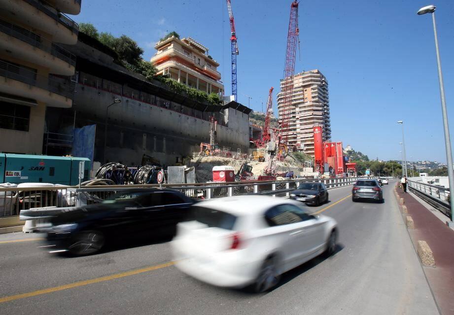 Le contournement du chantier Testimonio II sera à sens unique pendant quatre semaines.