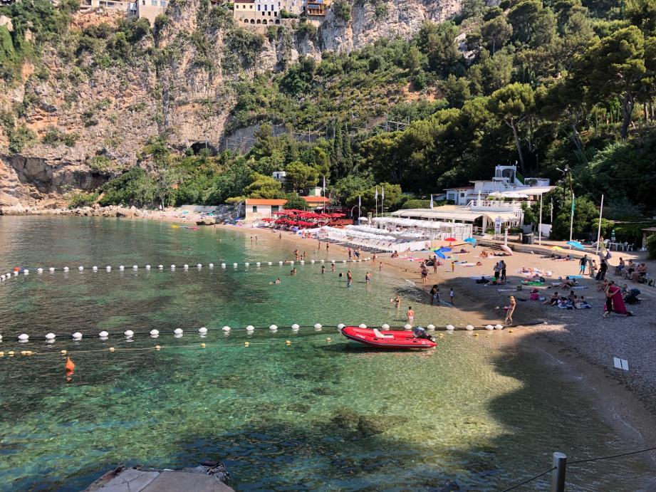 La plage de la Mala.