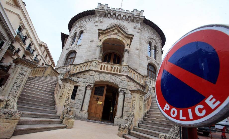 Le palais de justice de Monaco