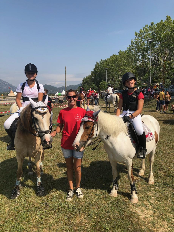 Christine Véran, passionnée d'équitation.