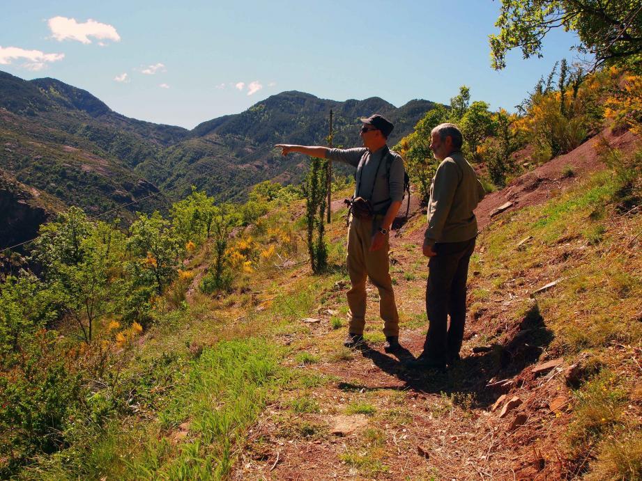 Le sentier Valléen promet de magnifiques panoramas aux participants de la randonnée « pélites ».