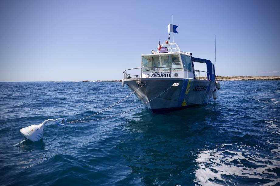 Pendant la saison, plusieurs dizaines de bateaux de plongée se rendent chaque jour sur les sites.