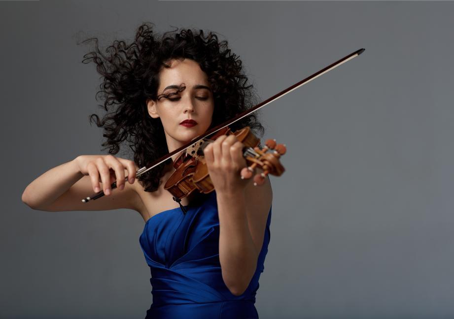 Soirée découverte avec la violoniste Alena Baeva et la pianiste Katia Skanavi.(DR)