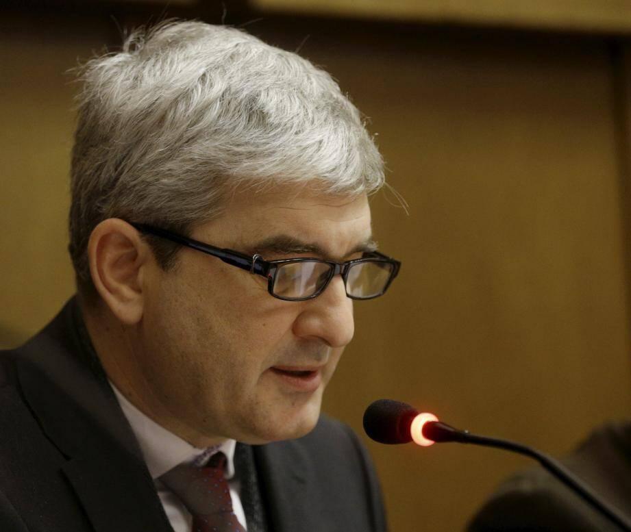 Guillaume Aral, en conseil municipal, le 21 décembre.