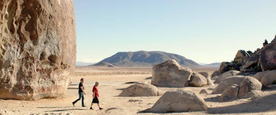 """À partir de 21 heures, le film """"Where is Rocky II"""" de Pierre Bismuth sera diffusé dans les jardins."""