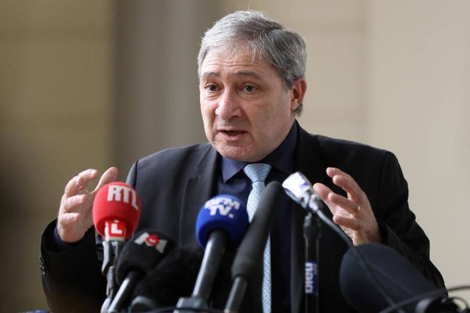Jean-Michel Prêtre, procureur de la République à Nice, le 19 janvier 2017