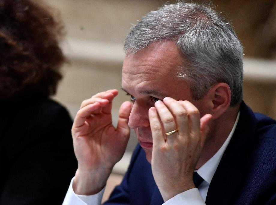 Le ministre de la Transition écologique François de Rugy, le 11 juillet 2019 à Niort
